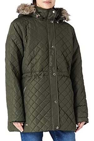 Regatta Zella Insulated Quilted Lined Jacket with Detachable Hood