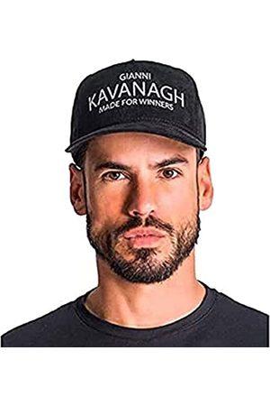 Gianni Kavanagh Black Cap with White GK Made For Winners Logo Gorra de béisbol