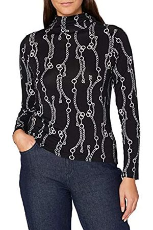 Blue Seven Damen Alloverdruck T-Shirt,Stehkr Camiseta