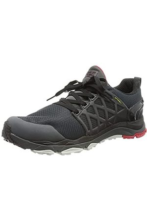 Jack Wolfskin Trail Invader Shield M, Zapatos de Low Rise Senderismo Hombre, (Ebony/Red 6237)