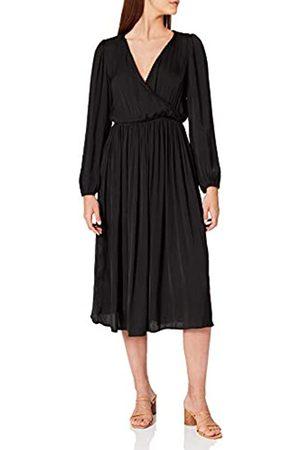 Springfield Mujer Casual - Vestido Midi Escote Cruzado
