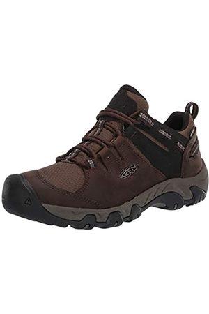 Keen Hombre Trekking - Steens Low Height Waterproof Hiking Shoe, Zapatos para Senderismo Hombre, Canteen/Brindle