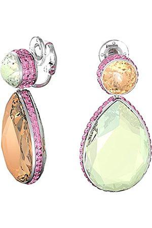 Swarovski Pendientes Orbita, Cristal con talla de pera