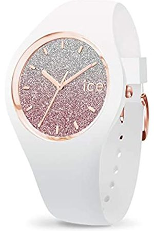 Ice-Watch Mujer Relojes - ICE Lo White Pink - Reloj para Mujer con Correa de Silicona