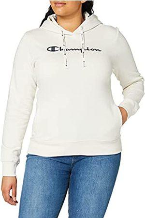 Champion Mujer Chaqueta de punto - Mujer - Sudadera con Capucha Classic C-Logo Allover