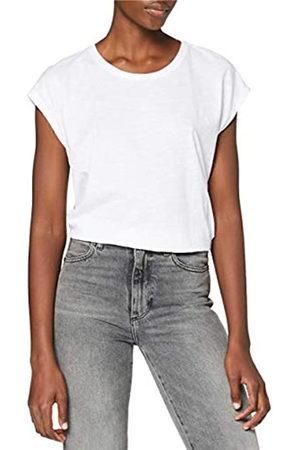 NAME IT Mujer Camisetas y Tops - NMMATHILDE S/S Loose Long Top Noos Camiseta