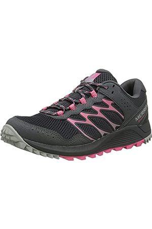 Merrell Wildwood GTX, Zapatillas para Caminar Mujer, (Granite/Carnation)