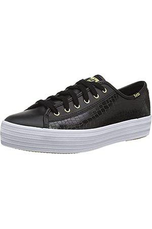 Keds Mujer Zapatillas deportivas - Triple Kick Leather Croc, Zapatillas Mujer