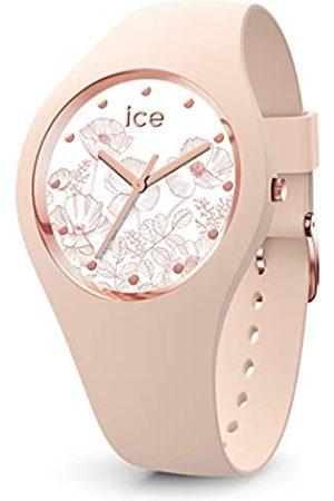 Ice-Watch Mujer Relojes - ICE Flower Spring Nude - Reloj para Mujer con Correa de Silicona