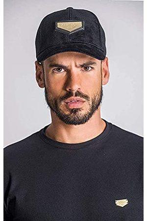 Gianni Kavanagh Black Velvet Cap with Gold GK Plaque Gorra de béisbol