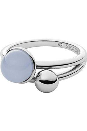Skagen Rings Stainless Steel No Gemstones womens