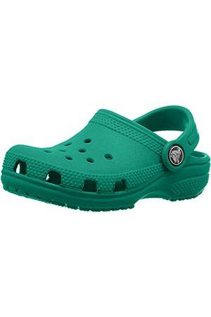 Crocs Classic Clog Kids Roomy fit, Zuecos Unisex niños, (Deep Green 3tj)