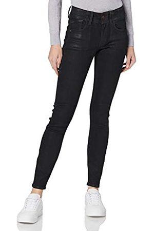 G-Star Lynn Mid Waist Skinny Jeans, (Black Radiant Cobler B472/B996)