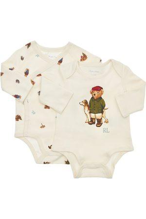 Ralph Lauren Niño Conjuntos de ropa - | Niño Set De 2 Bodies De Algodón Interlock Estampado 6m