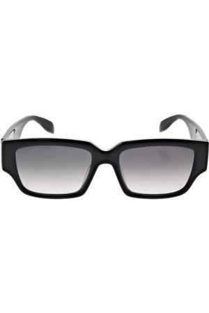 Alexander McQueen   Hombre Gafas De Sol Cuadradas De Acetato /gris Unique