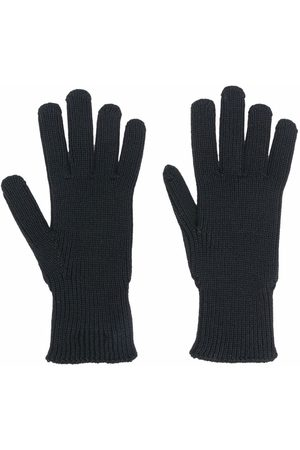 Moncler Logo-patch knitted gloves
