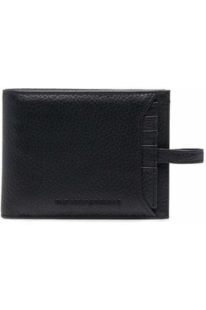 Emporio Armani Pebbled-effect leather wallet