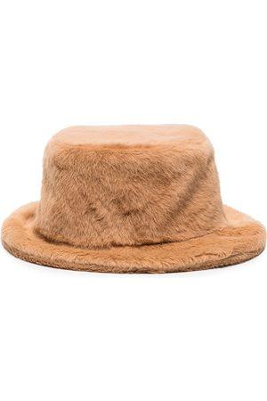 Ruslan Baginskiy Mujer Sombreros - Faux Fur Bucket Hat
