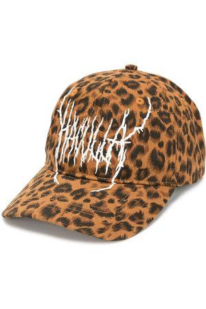 Haculla Gorra de béisbol con motivo de leopardo
