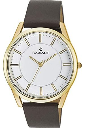 Radiant Reloj Analógico para Hombre de Cuarzo con Correa en Cuero RA407602