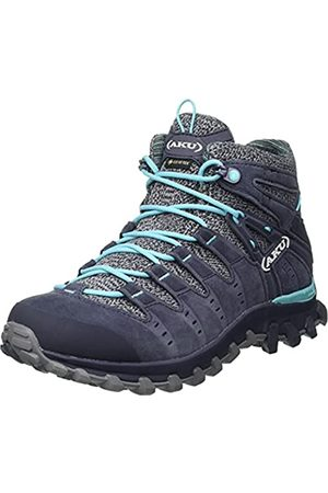 Aku Mujer Zapatillas deportivas - ALTERRA Lite Mid GTX W'S, Botas Mujer, Anthracite/Light Blue
