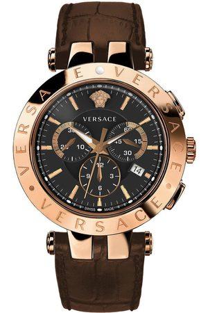 VERSACE Reloj analógico VERQ00320, Quartz, 42mm, 5ATM para hombre