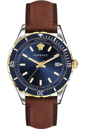 VERSACE Reloj analógico VE3A00420, Quartz, 42mm, 5ATM para hombre
