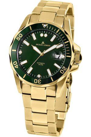 Jacques Lemans Reloj analógico 1-2089J, Automatic, 42mm, 20ATM para hombre