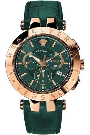 VERSACE Reloj analógico VERQ00420, Quartz, 42mm, 5ATM para hombre