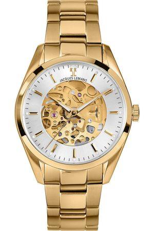 Jacques Lemans Reloj analógico 1-2087J, Automatic, 40mm, 5ATM para hombre