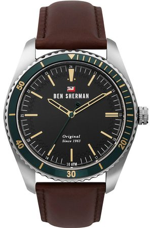 Ben Sherman Reloj analógico WBS114NT, Quartz, 45mm, 10ATM para hombre