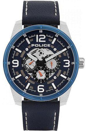 Police Reloj analógico PL15663JSTBL.03, Quartz, 49mm, 3ATM para hombre