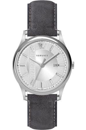 VERSACE Reloj analógico VE4A00120, Quartz, 44mm, 5ATM para hombre