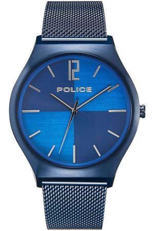 Police Reloj analógico PL15918JSBL.03MM, Quartz, 44mm, 3ATM para hombre