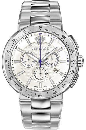 VERSACE Reloj analógico VFG090013, Quartz, 44mm, 5ATM para hombre