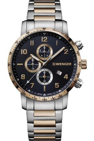 Wenger Reloj analógico 01.1543.116, Quartz, 44mm, 10ATM para hombre