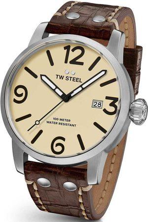 TW steel Reloj analógico MS22, Quartz, 48mm, 10ATM para hombre