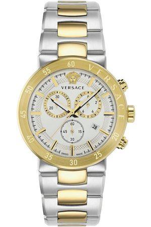 VERSACE Reloj analógico VEPY00620, Quartz, 44mm, 5ATM para hombre