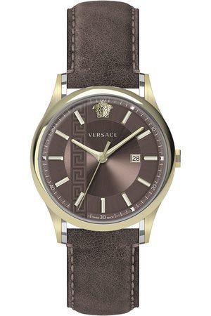 VERSACE Reloj analógico VE4A00320, Quartz, 44mm, 5ATM para hombre