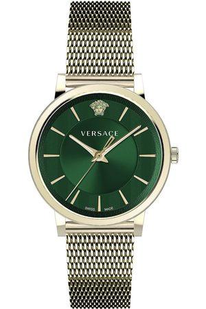 VERSACE Reloj analógico VE5A00820, Quartz, 42mm, 5ATM para hombre