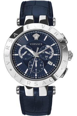 VERSACE Reloj analógico VERQ00620, Quartz, 42mm, 5ATM para hombre