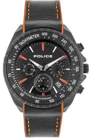 Police Reloj analógico PL15328JSB.02P, Quartz, 44mm, 10ATM para hombre
