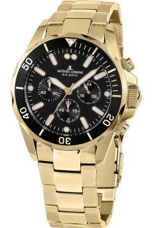 Jacques Lemans Reloj analógico 1-2091J, Quartz, 44mm, 20ATM para hombre