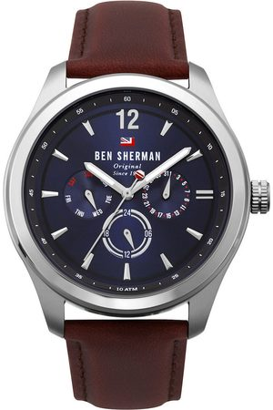 Ben Sherman Reloj analógico WBS112UT, Quartz, 44mm, 10ATM para hombre