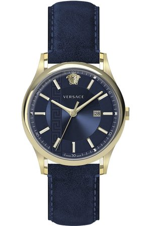 VERSACE Reloj analógico VE4A00220, Quartz, 44mm, 5ATM para hombre