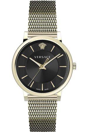 VERSACE Reloj analógico VE5A00920, Quartz, 42mm, 5ATM para hombre