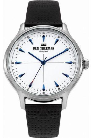 Ben Sherman Reloj analógico WB018S, Quartz, 42mm, 3ATM para hombre