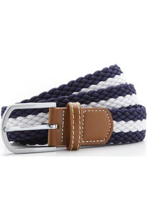 Asquith Fox Cinturón Two Colour Stripe para hombre