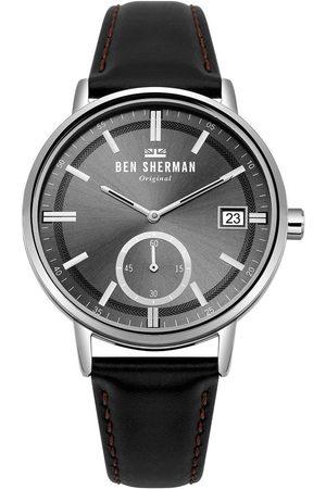 Ben Sherman Reloj analógico WB071BB, Quartz, 41mm, 3ATM para hombre