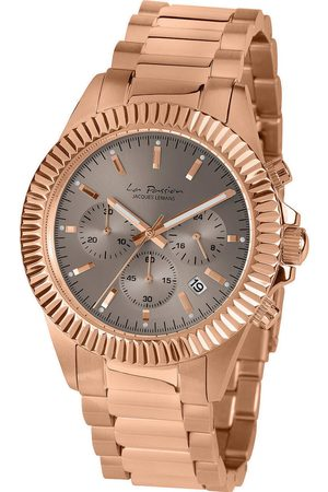Jacques Lemans Reloj analógico LP-111K, Quartz, 42mm, 10ATM para hombre